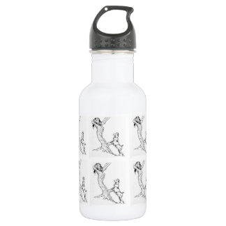 water Bottle The Dog & Cat Chase