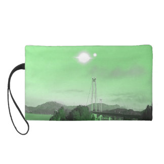 Water, bridge and two suns wristlets