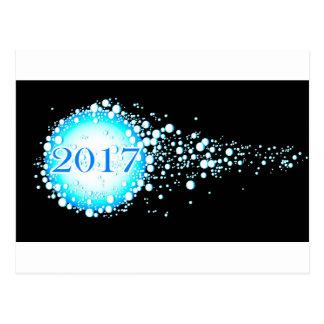 Water Bubbles 2017 Postcard