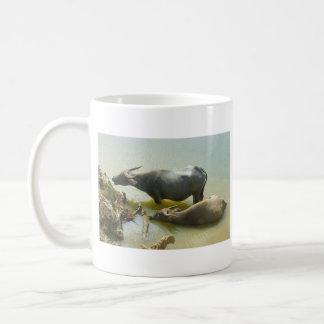 Water Buffalo Cooling Off Mug
