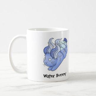 Water Bunny Basic White Mug