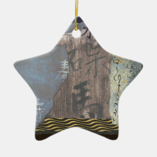 Water Ceramic Star Decoration