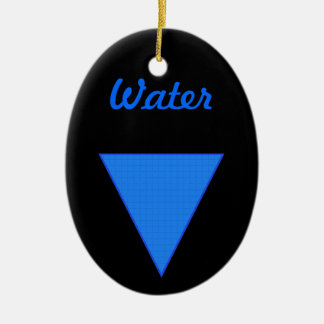 Water Christmas Tree Ornament
