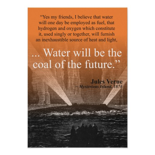Water...coal of the future - Poster (tangerine)