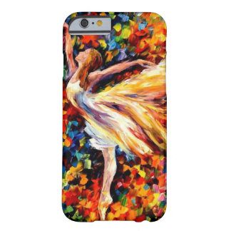 Water Color Ballerina Barely There iPhone 6 Case