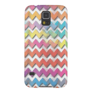 Water Color Chevrons Phone Cases