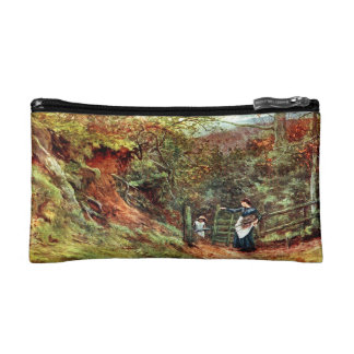Water Color Cosmetic Bag