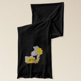 Water Color Daffodils Scarf