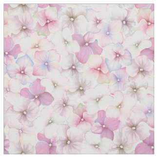 Water color flowers pattern - floral pattern fabric