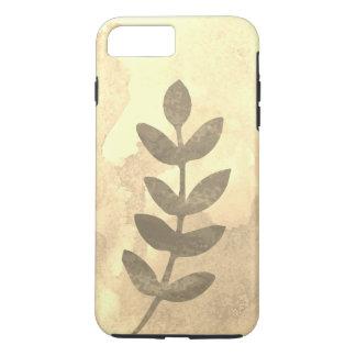 Water Color / leafs / sepia iPhone 8 Plus/7 Plus Case