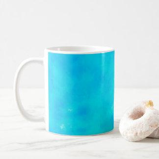 water color mug