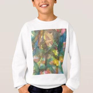 Water Color Shapes Sweatshirt