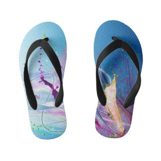 Water Color Thongs