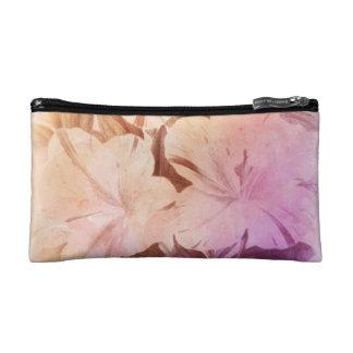 Water Color Vintage Flowers Cosmetic Bag