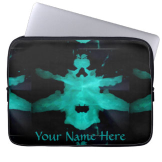 Water Color Warshak (Rorschach) Laptop Sleeve