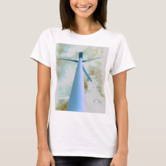 Water Color Wind Turbine T-Shirt
