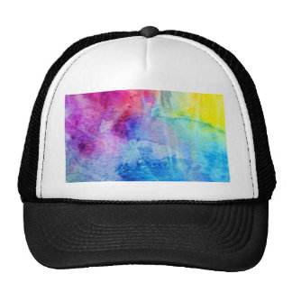 Water color wonder abstract fun lavender, lilac trucker hat
