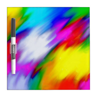 Water Colored Dry Erase Board