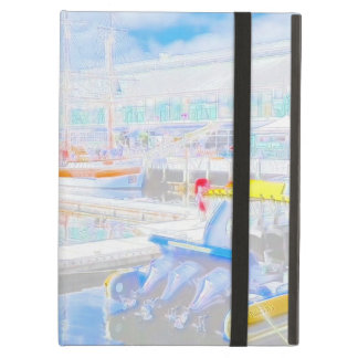 Water Colour Boats iPad Air Cover