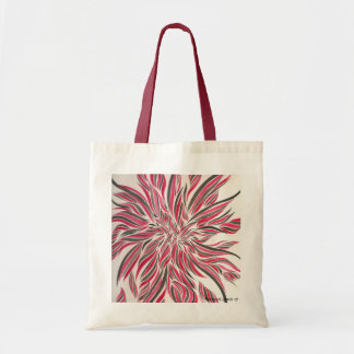 Water Colour Flowers No6 Canvas Bags
