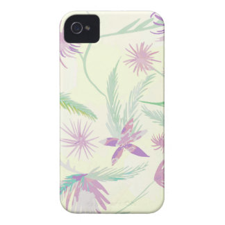 water colour pink palms iPhone 4 covers