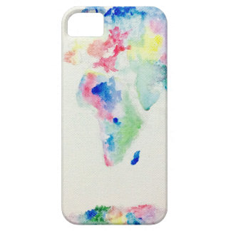 water colour world map case for the iPhone 5