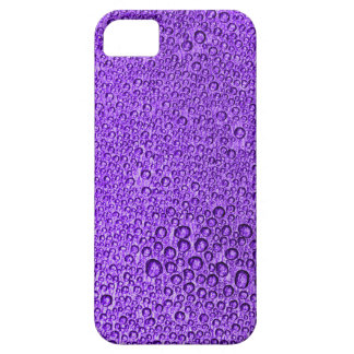 Water Condensation 05 Lilac iPhone 5 Cases