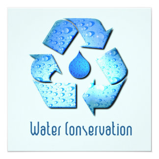 Water Conservation Invitation