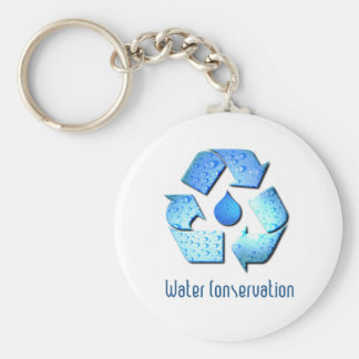 Water Conservation Keychain