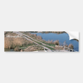 Water Control Structure, Bear River National Wildl Bumper Sticker