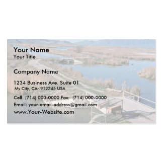 Water Control Structure, Bear River National Wildl Business Card