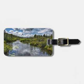 Water Country River Ponds Luggage Tag