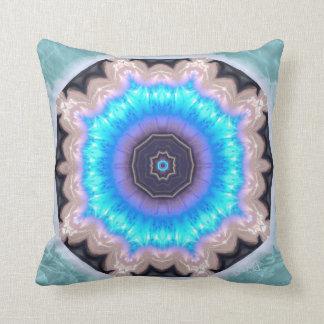 Water Crystal Mandala Pillow