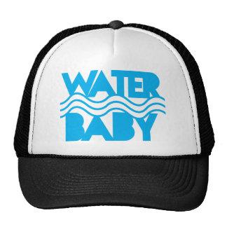 Water cute with ocean waves cap
