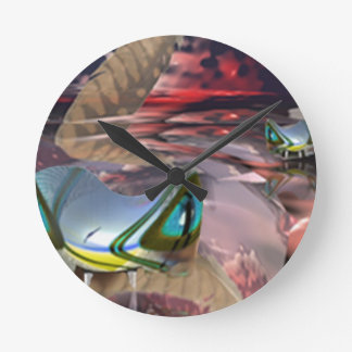 Water Demons Wall Clocks