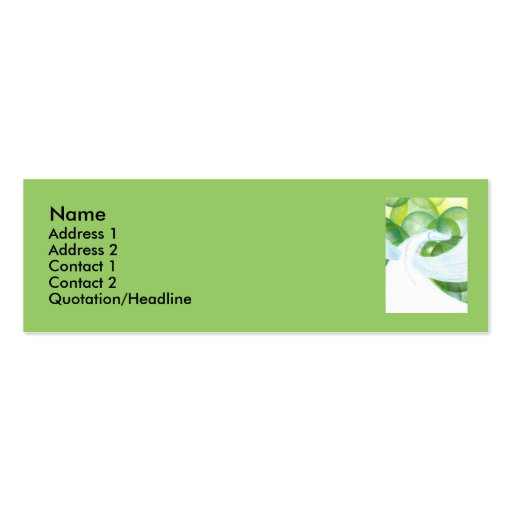 Water Dragon Business Card