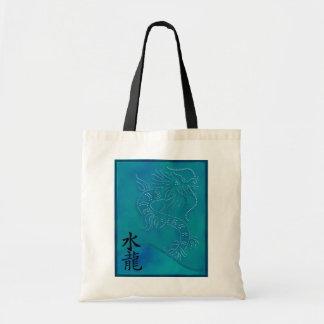 Water Dragon Gift Tote Budget Tote Bag