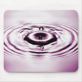 Water drop 6 mousepad