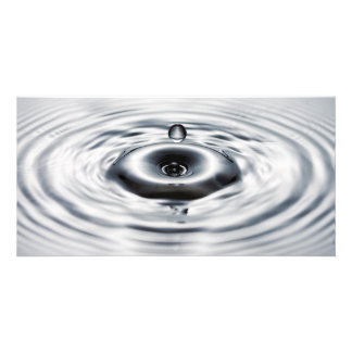 Water drop 6 picture card