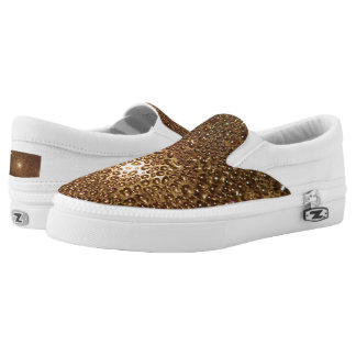 Water Drop Custom Zipz Slip On Shoes,  Men & Women Printed Shoes