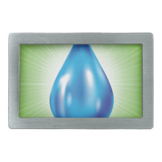 water drop rectangular belt buckle