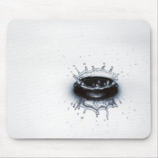 Water drop splash mouse pads