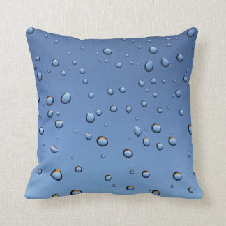 Water drop splash wet cushion