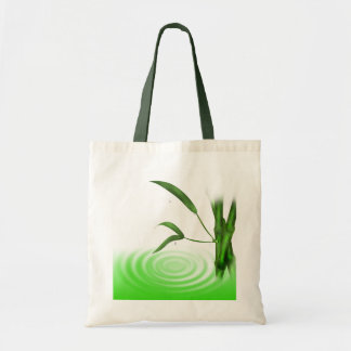 Water drop water ripple bamboo Bag