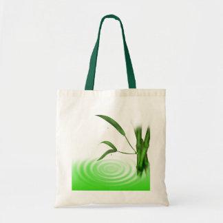 Water drop water ripple bamboo Bag