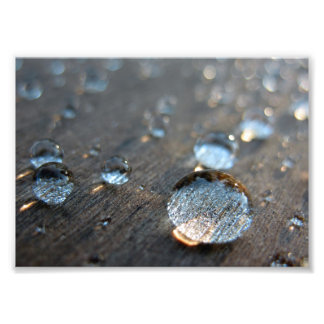 Water Droplets Art Photo
