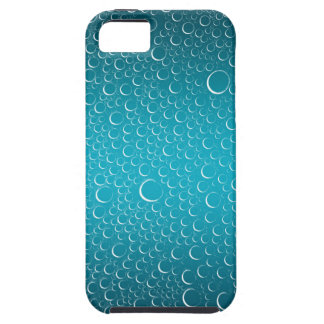 water droplets blue blend iPhone / iPad case