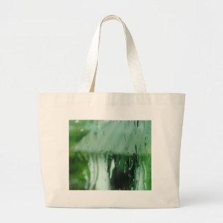 Water Droplets Jumbo Tote Bag