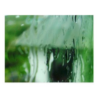 Water Droplets Postcard
