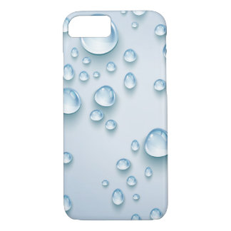 Water Drops Apple iPhone 7, Barely Phone Case